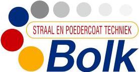 Bolk straal en poedercoating logo